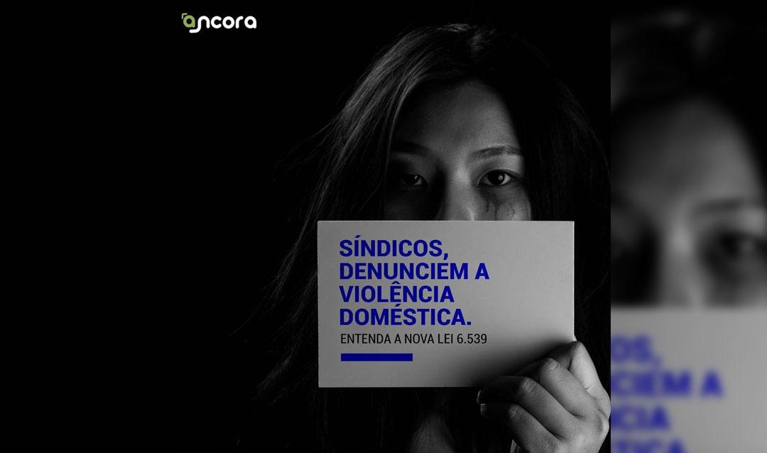 Lei obriga síndicos a denunciarem violência doméstica